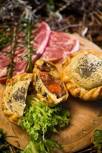 Cooper`s Handmade Pies. Country style lamb and vegetable pie