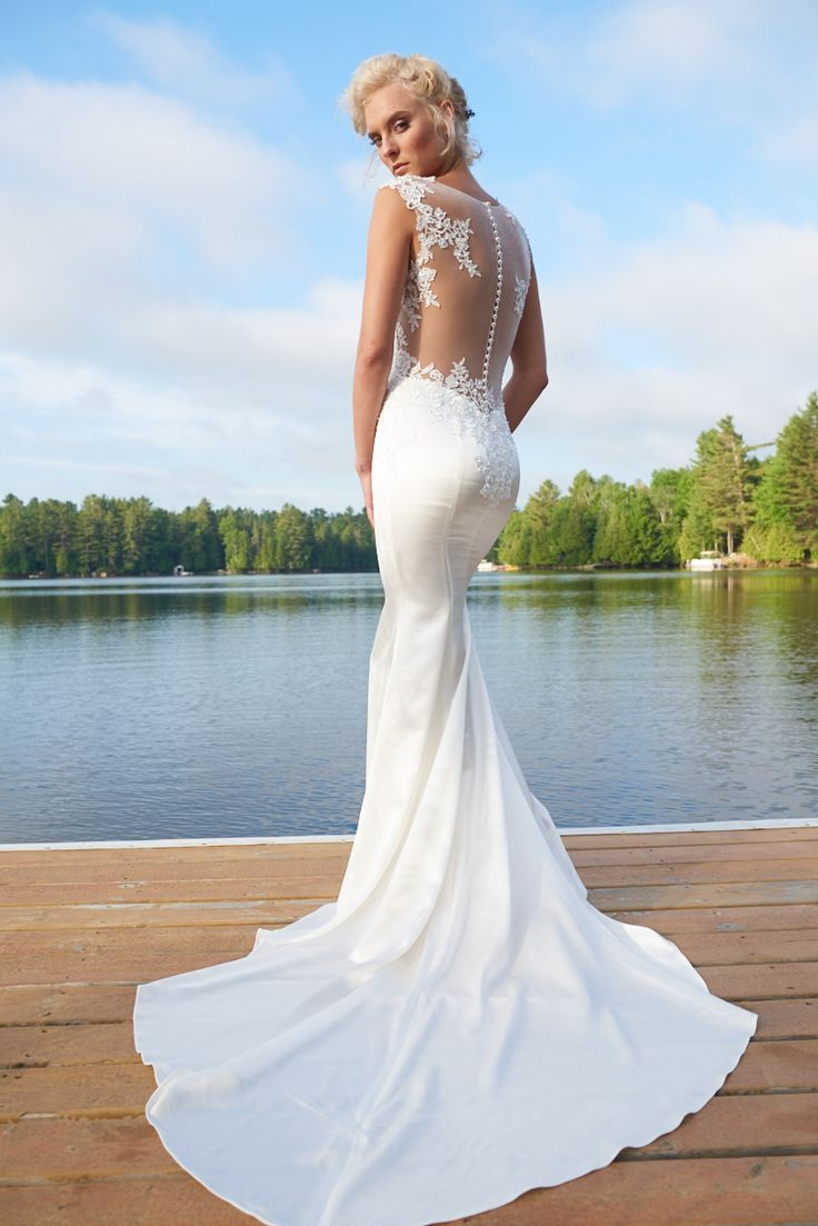 Best wedding dresses for athletic body type   best Wedding White images on Pinterest  Wedding frocks