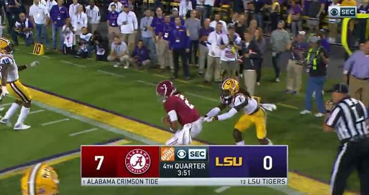 Alabama Football Beats LSU
