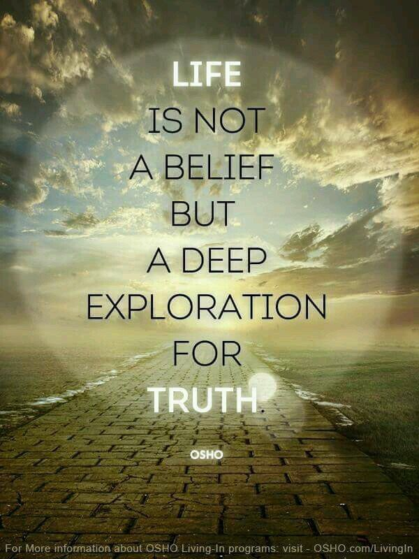 Indeed! But not everyone understands the value of being truthful.. Until it's too late.