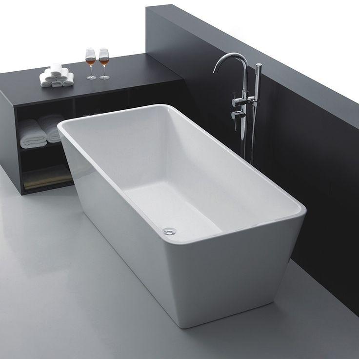 </br> <p>Celeste Firenze er et frittstående badekar i moderne design, i 170 cm lengde. Badekaret leveres i en helstøpt form, med skjulte justerbare ben i aluminium og push-up bunnventil. Badekaret i ren hvit akryl har høy slitestyrke med en blank overfla