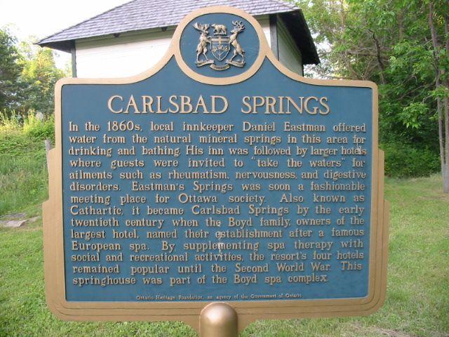 Ontario historical plaques