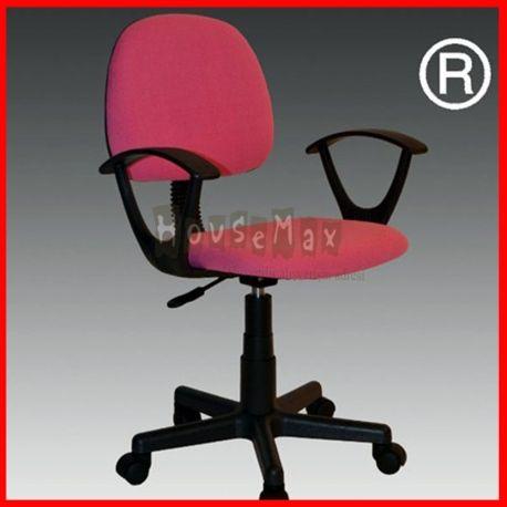 Ürün Özellikleri: Housemax Çalışma Koltuğu Kumaş Pembe Oturak ve sırt kalıpta form verilmiş papel ahşap üzeri sünger kaplamalıdır. Bu sayede vücut ergonomisine