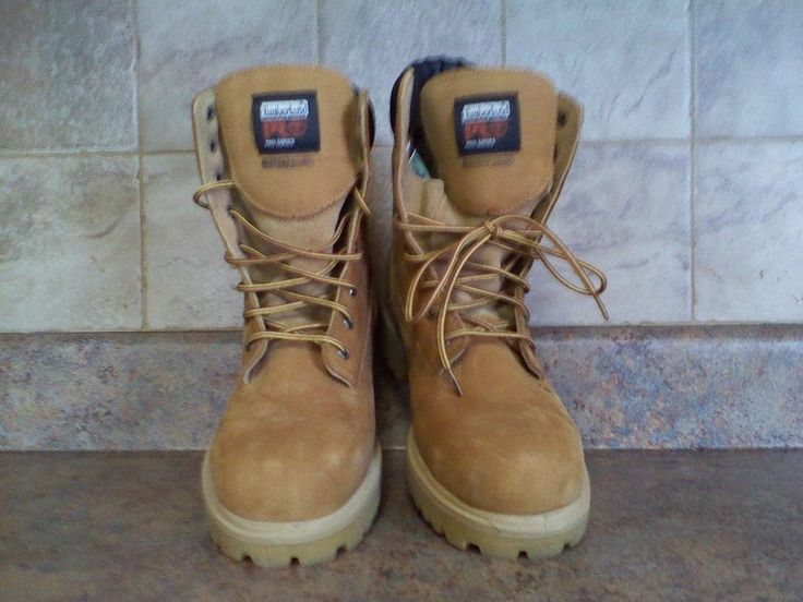 MEN'S TIMBERLAND PRO SERIES WORK BOOTS-SIZE: 10.5M #TIMBERLAND #WorkSafety