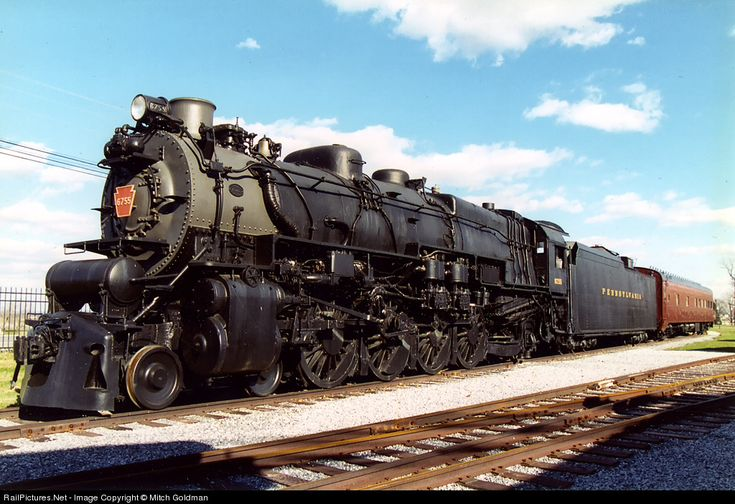 RailPictures.Net Photo: PRR 6755 Pennsylvania Railroad Steam 4-8-2 at Strasburg, Pennsylvania by Mitch Goldman