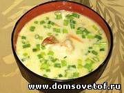 Острый японский крем суп