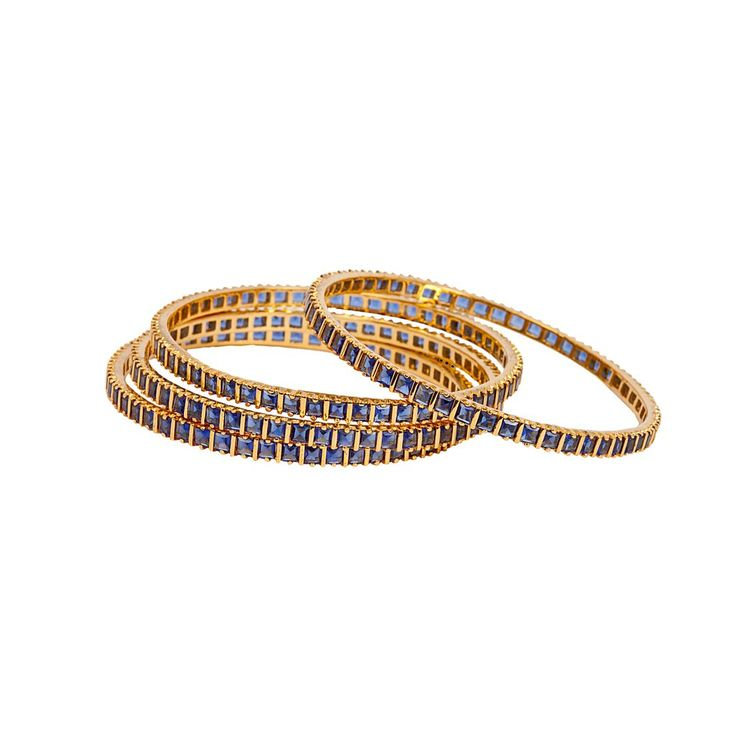 Fancy Gold Plated Bangle Sets