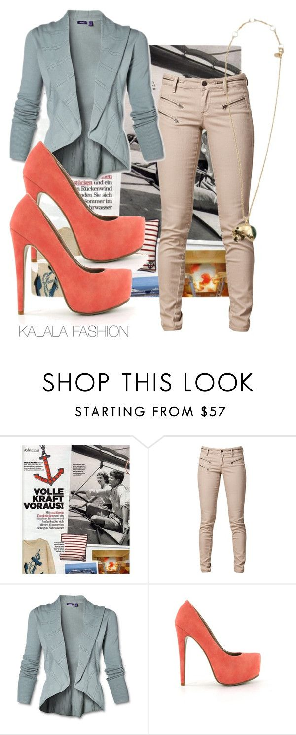 Wear Me Neutral by karlabosch on Polyvore featuring SELECTED, Nly Shoes and  Alexis Bittar