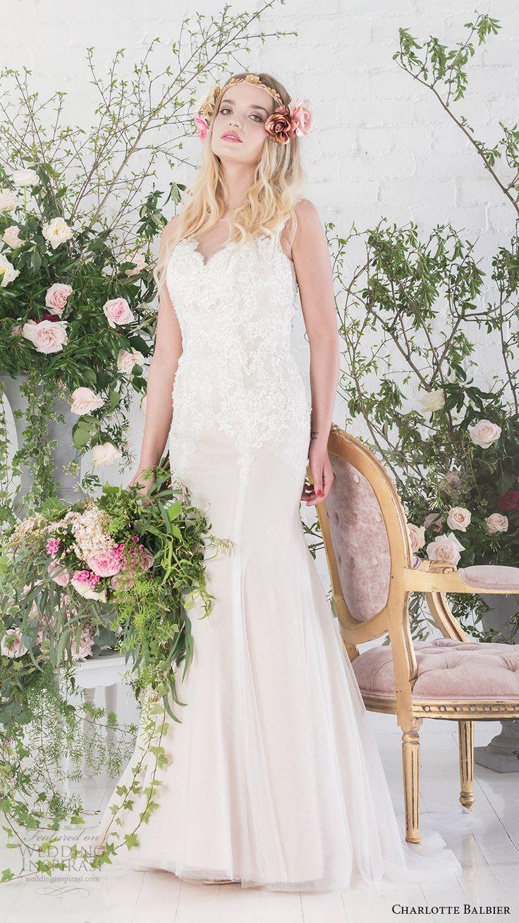 CHARLOTTE BALBIER bridal 2017 sleeveless sweetheart trumpet wedding dress (paige) mv  #bridal #wedding #weddingdress #weddinggown #bridalgown #dreamgown #dreamdress #engaged #inspiration #bridalinspiration #weddinginspiration #weddingdresses