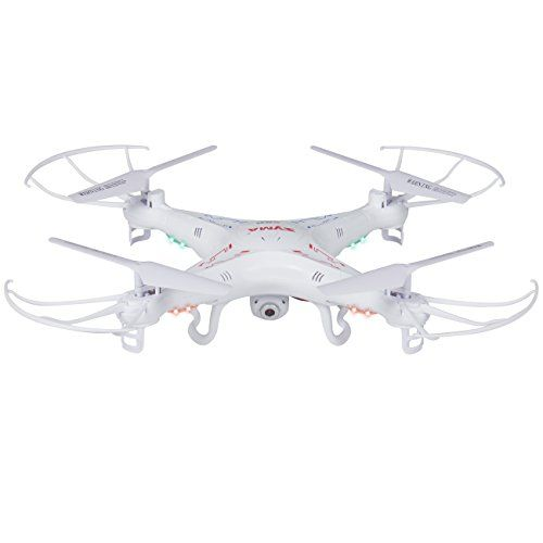Best Choice Product RC 6-Axis Quadcopter Flying Drone Toy With Gyro and HD Camera Remote Control LED Lights