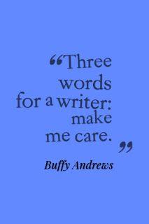 Buffy's write zone