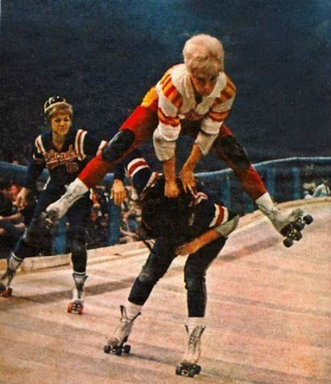 Ivy King Don't mess with these hot mamas: Vintage photos of badass Roller Derby Girls | Dangerous Minds