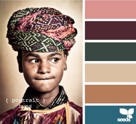 Portrait Hues - http://design-seeds.com/index.php/home/entry/portrait-hues
