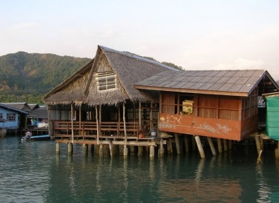 Fishermans Village in Koh Chang, Thailand