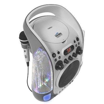 Karaoke Night 2-digit Led Ac Power Adapter Karaoke Machine - White