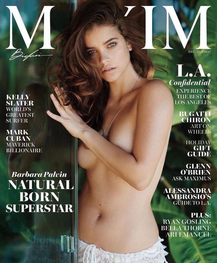 Barbara Palvin pose for Maxim Magazine December 2016 Cover