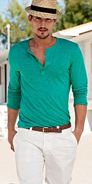 Thin cotton henley - even better than normal henley