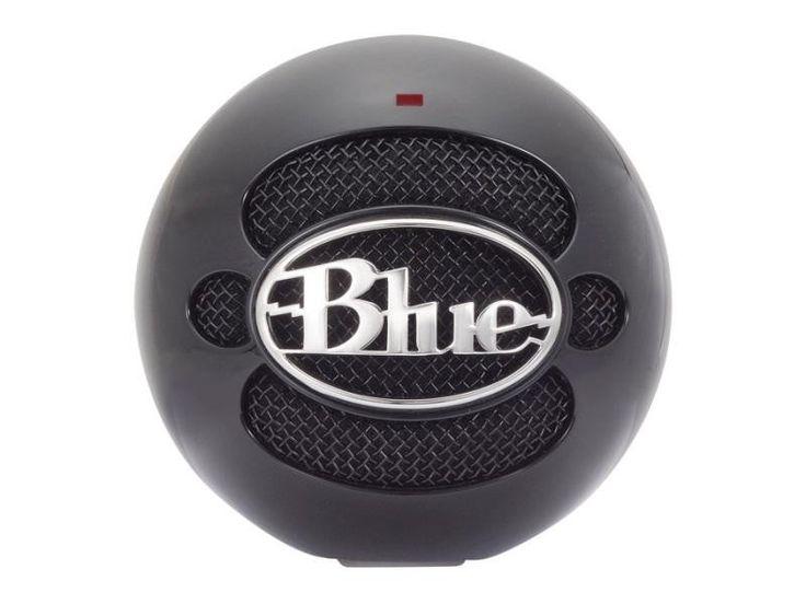 Blue Microphones Snowball - Gloss Black #WRGamers #Blue Microphones