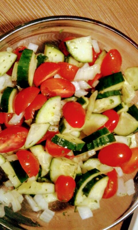 Tomcumb salads