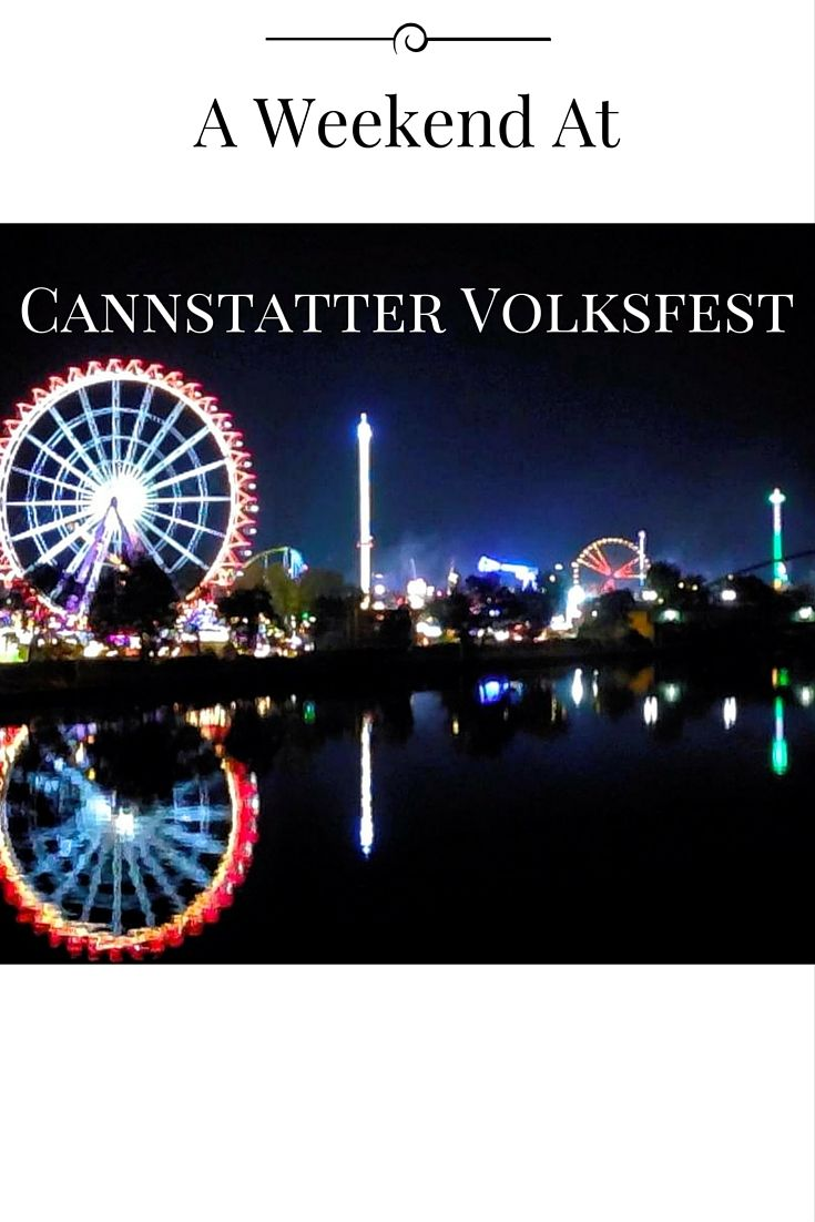 If you're worried about Oktoborfest being too crowded, but still want an authentic German beer festival experience...then check out the Cannsttatter Volkfest in Stuttgart. So worth the trip!