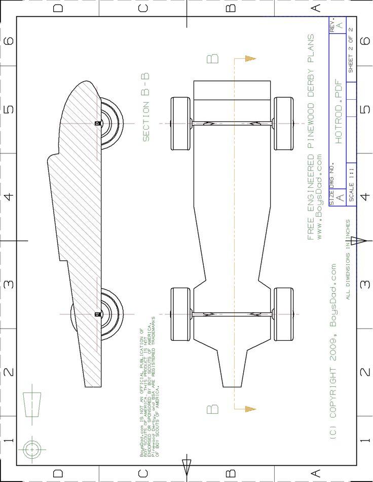 race car design template