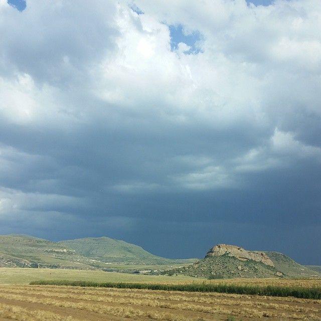 Near #Ficksburg #Storm #Mountains