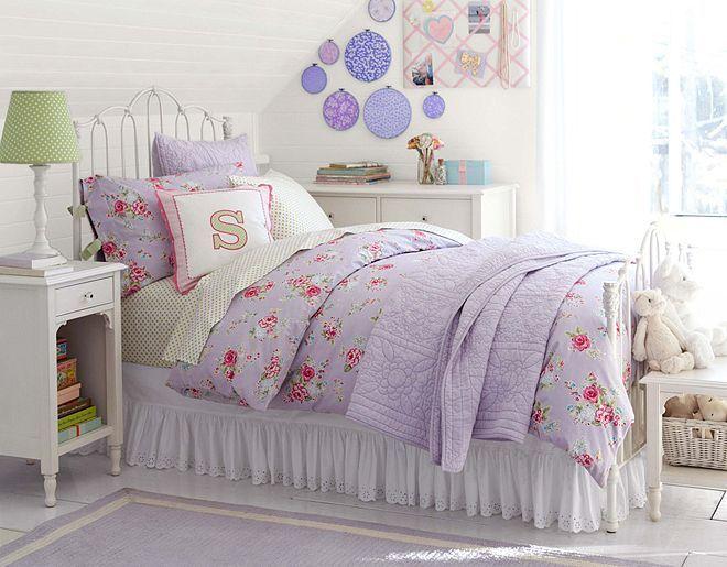 Love This PB Kids Lavender Savannah Bedroom .
