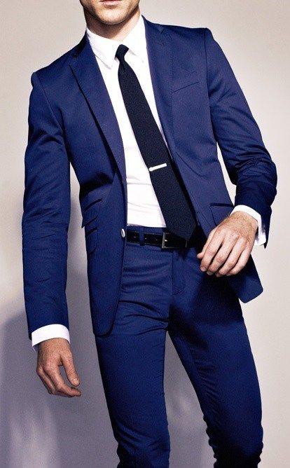 25  best ideas about Blue suit men on Pinterest   Modern suit men ...