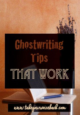 Have you been thinking about ghostwriting for cash? Are you ghostwriting now? Either way, here are some tips that make ghostwriting work for you so that you are fast, efficient, and accurate.