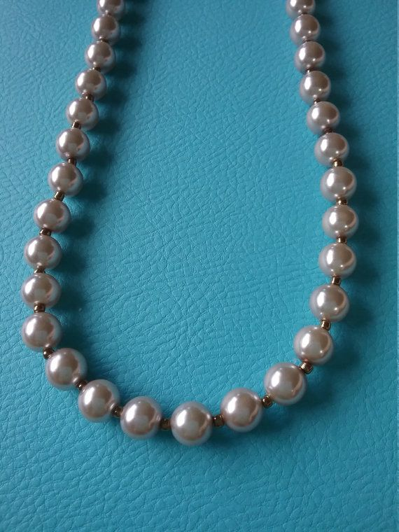 Hey, I found this really awesome Etsy listing at https://www.etsy.com/au/listing/265437400/glass-pearl-necklace