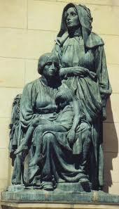 Vroue monument, Oorlogsmuseum, Bloemfontein Grafte van Pres Steyn en Emily Hobhouse