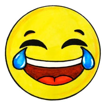Laughing Crying Emoji | ÇİZİM | Dibujos kawaii, Emojis ...