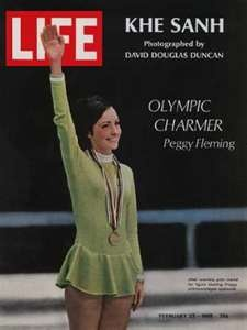 Peggy Fleming ... Winter Olympic Games, 1968 - Grenoble, France