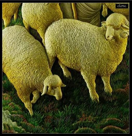 """Про объемную вышивку, думаю, слышали многие. А вот слышали ли вы про 3D вышивку? """"Хороший пастух"""". Про мастерство индийских вышивальщиков известно всему миру.…"""