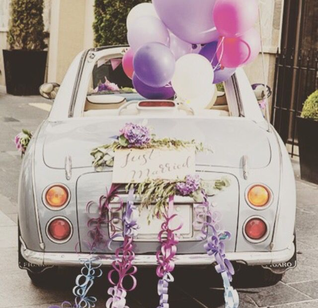 Nissan Figaro wedding