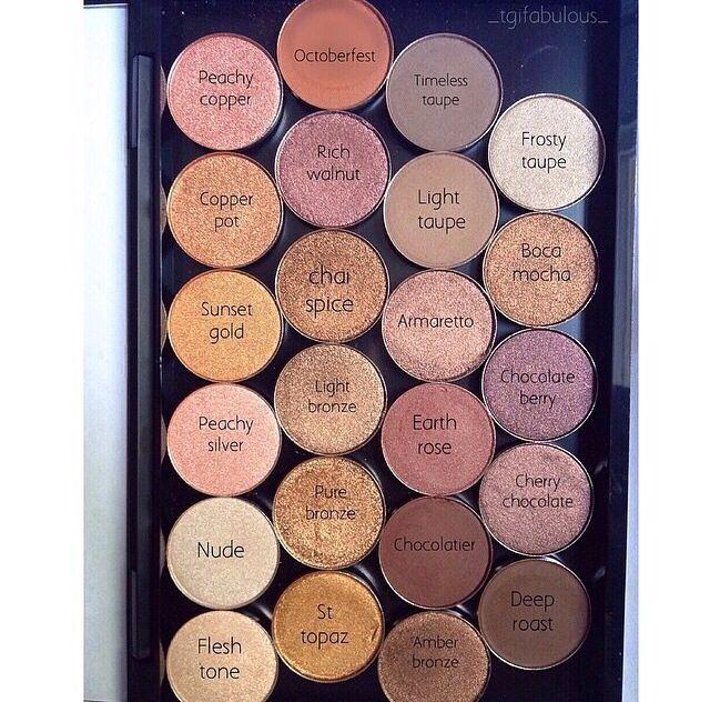 how to put makeup geek eyeshadow in mac palette