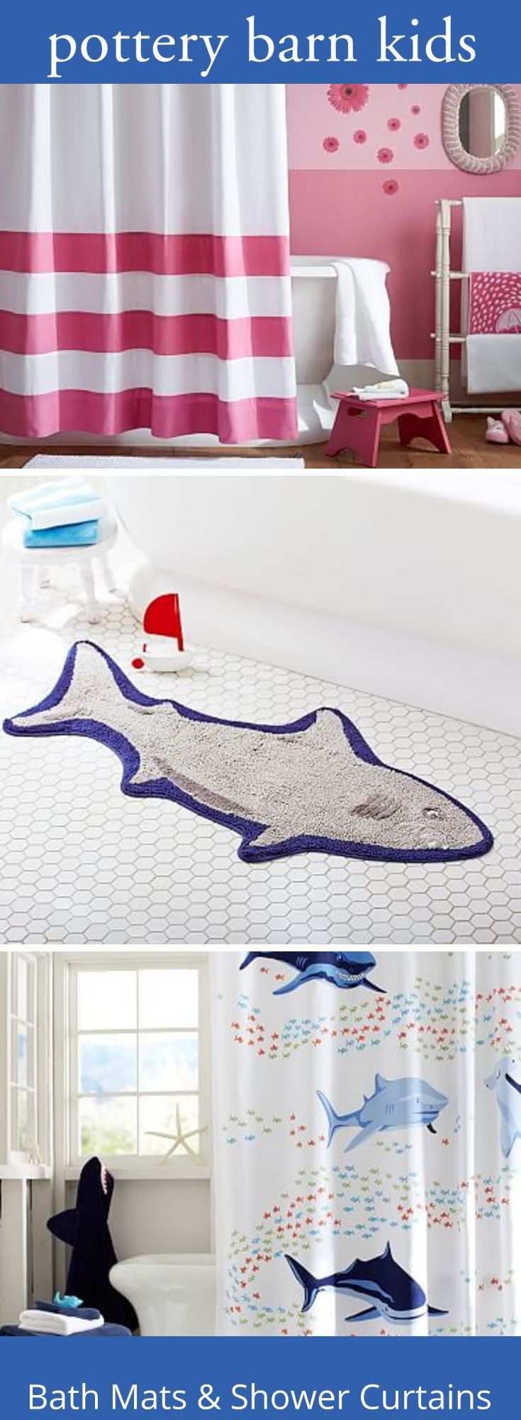 Nautica palmetto bay stripe shower curtain from beddingstyle com - Bath Mats Shower Curtains