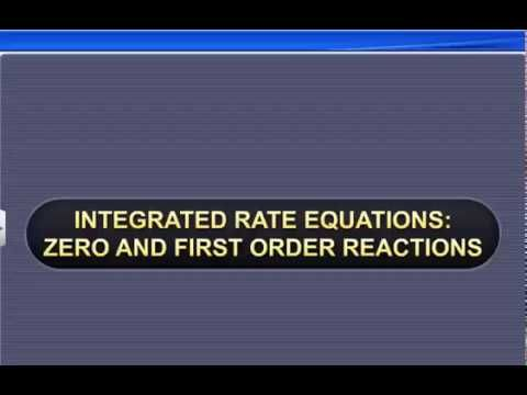 CBSE Class 12 Chemistry, Chemical Kinetics-4, Integrated Rate Equations:...