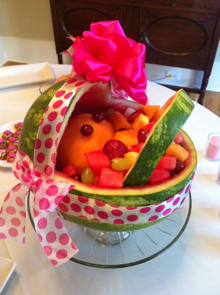 watermelon baby side dishes kelly s baby kids baby shower ideas baby