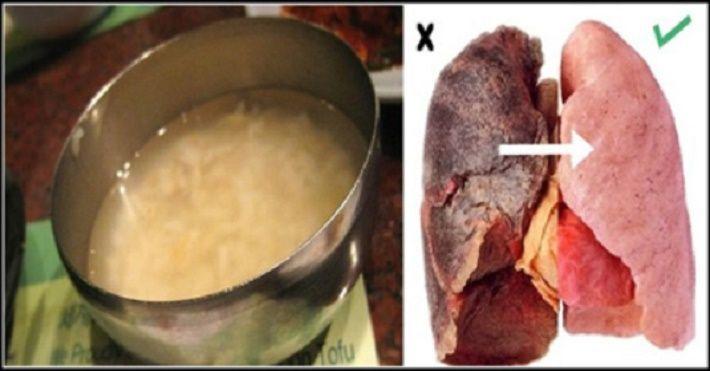 Esta receita vai limpar seus pulmões em pouco tempo.Ela é tão boa que também serve para quem já foi fumante e até mesmo para quem ainda fuma.Mas, se você fuma, mesmo esta receita sendo útil, o melhor negócio é parar de fumar já!