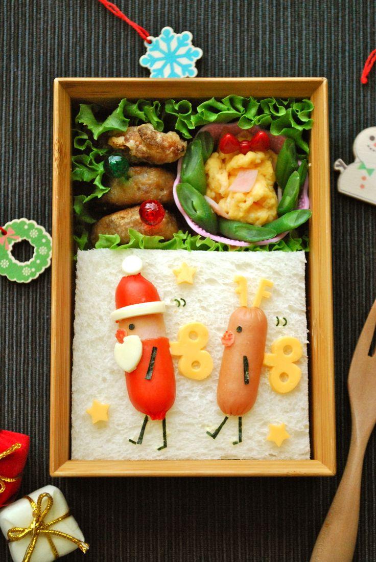 『キャラ弁☆おもちゃの兵隊「サンタとト…』