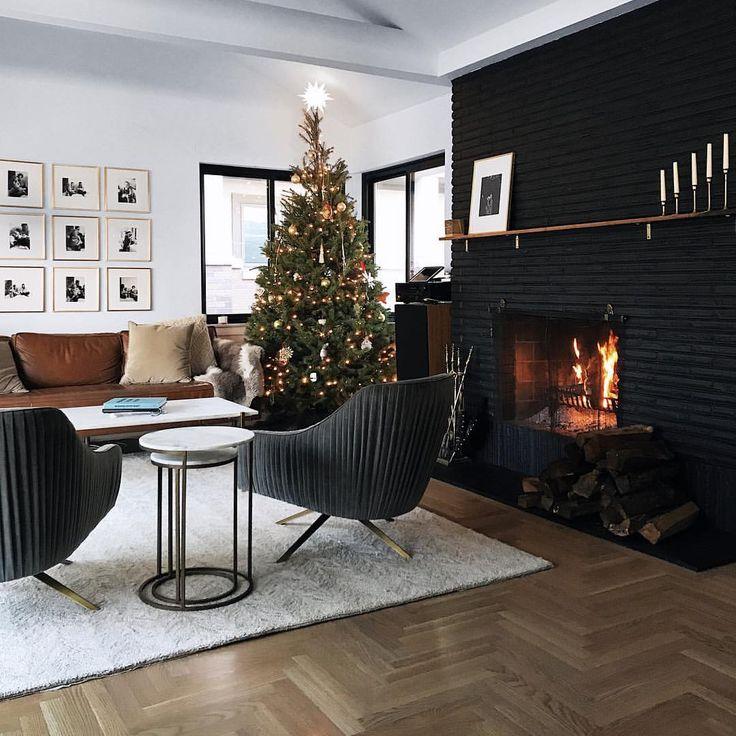 Best 25 Black Brick Fireplace Ideas On Pinterest Black