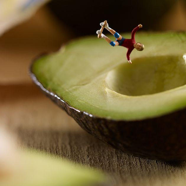 Regardez ces photos de nourriture de plus près, vous allez découvrir d'autres choses