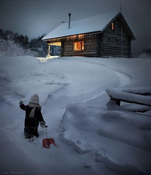 Heading home. By Elena Shumilova