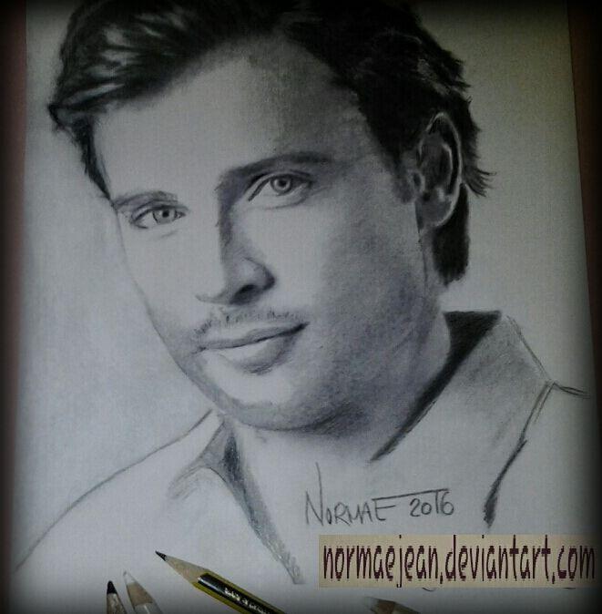 doodling Tom Welling