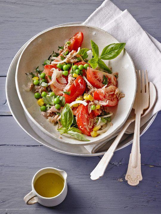 Leicht & lecker: Thunfisch-Tomaten-Salat
