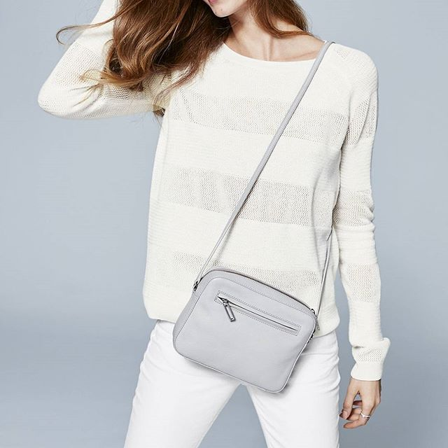 thewhitecompany . We won't be leaving the house without this for the rest of the season. Crossbody bag