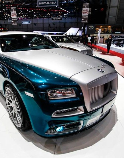 Rolls Royce Ghost by Mansory