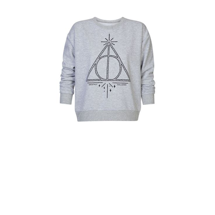 Sweatshirt lichtgrijs Harry Potter azortiz;${refinementColor}