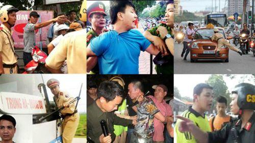 18 người bị bắt giữ trong các vụ chống đối cảnh sát giao thông